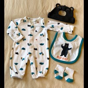 Carter's 4pc set Preemie